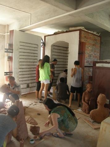 Loading the Kiln